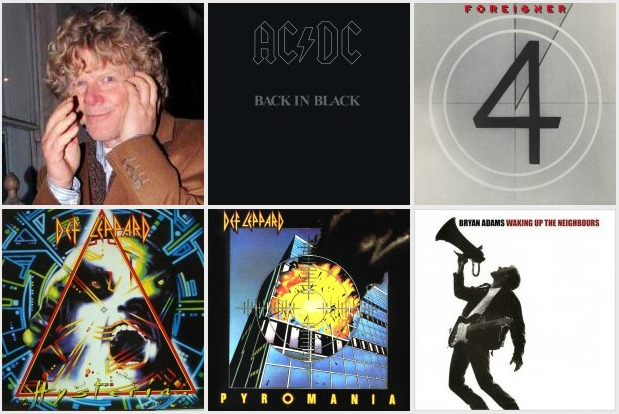 5 Great Rock Records Produced by Mutt Lange