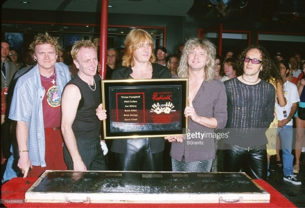 Def Leppard walk of fame