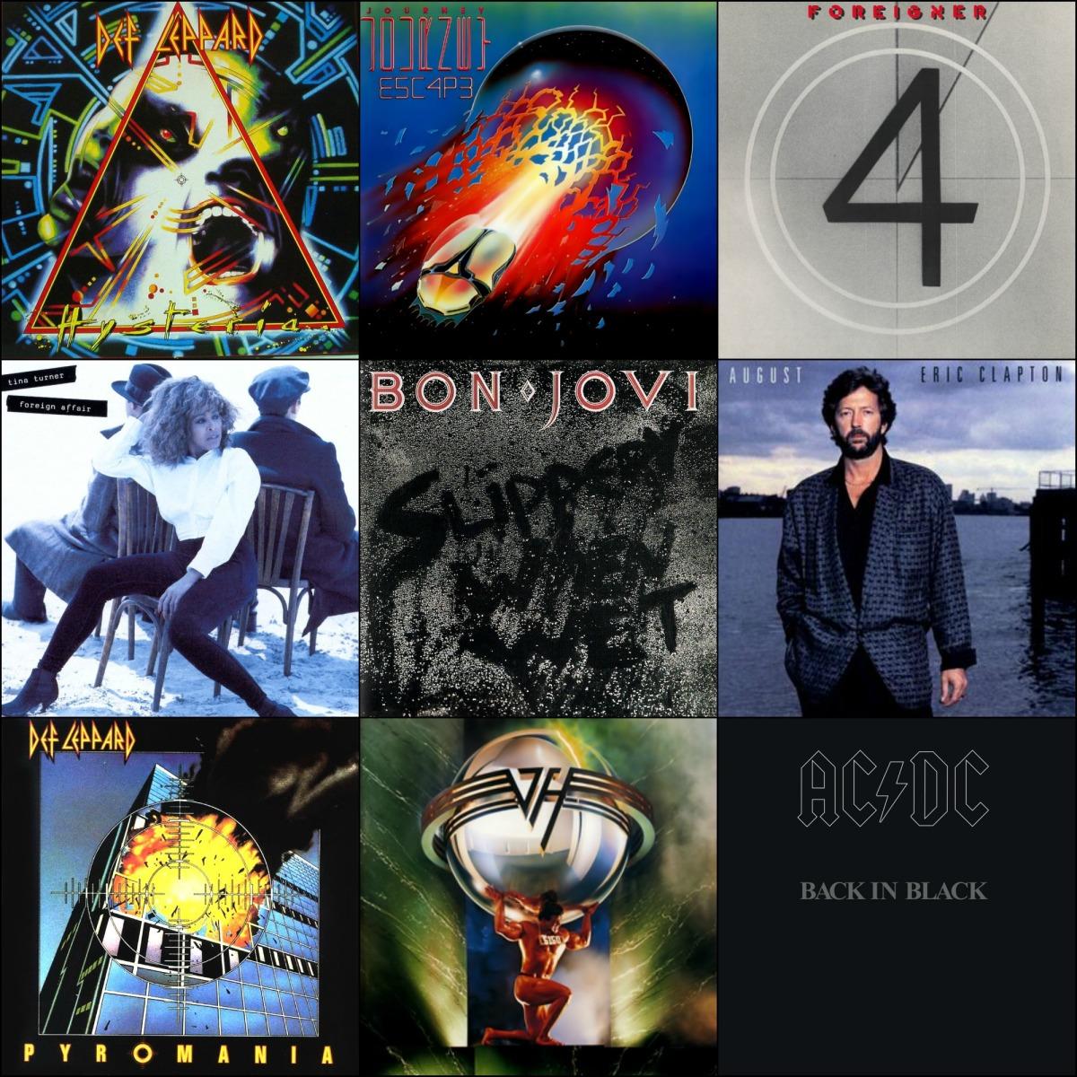 my top 10 80s rock albums my rock mixtapes. Black Bedroom Furniture Sets. Home Design Ideas