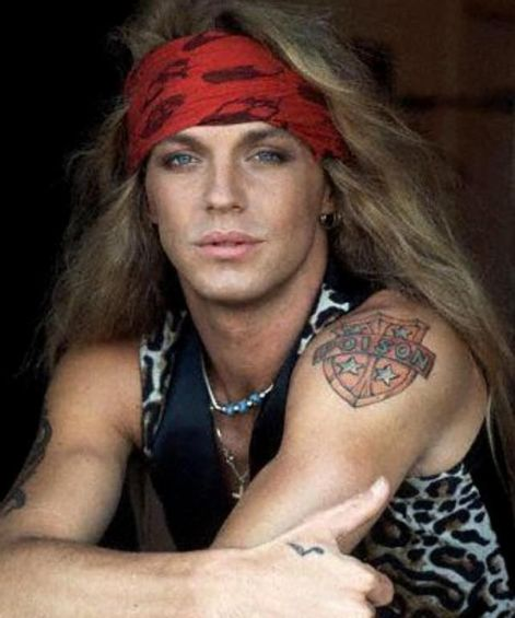 Bret Michaels Poison 80s