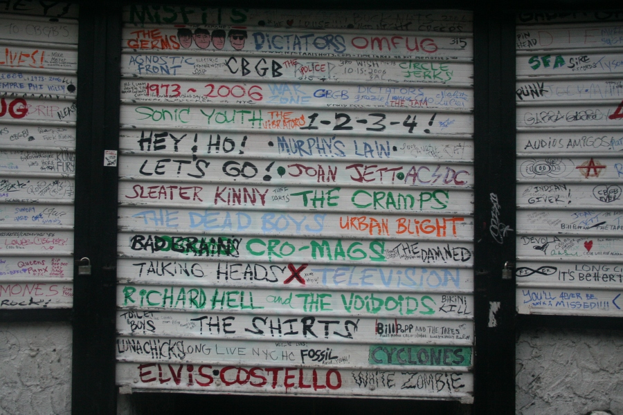 CBGB - after closing