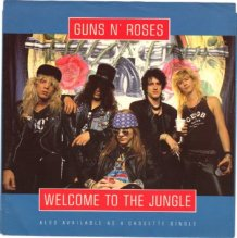 Guns N' Roses - Welcome To The Jungle ( 1987 )