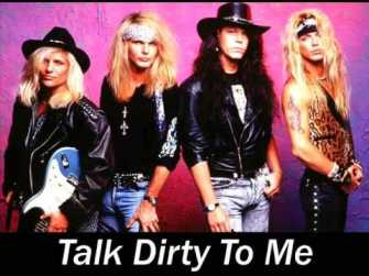 Poison - Talk Dirty to Me