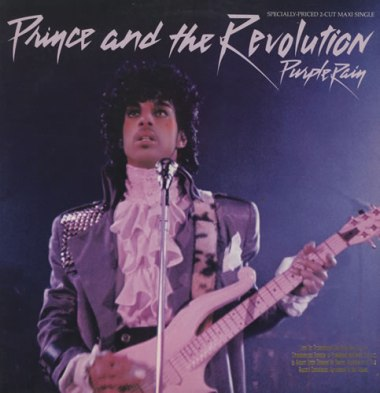 Prince - Purple Rain Cover