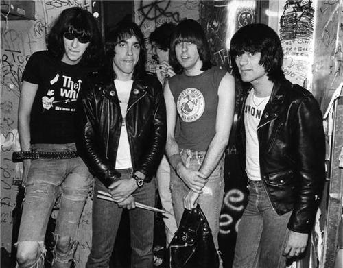 Ramones in the 70s