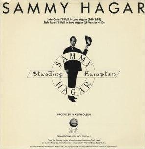 Sammy Hagar - Ill fall Inlove again