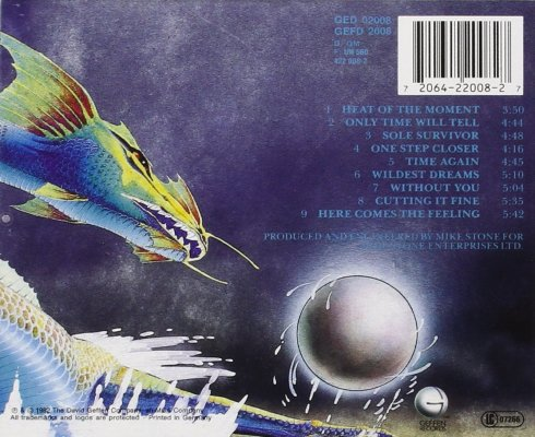 asia - asia - back cd