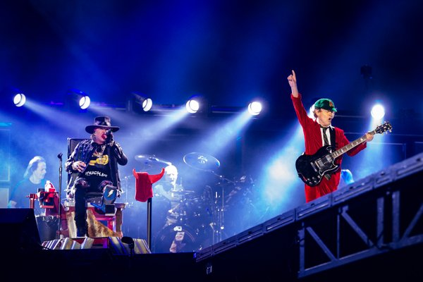 axl with acdc