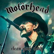 Motörhead, Clean Your Clock Live in Munich 2015 (DVD Blu-ray)