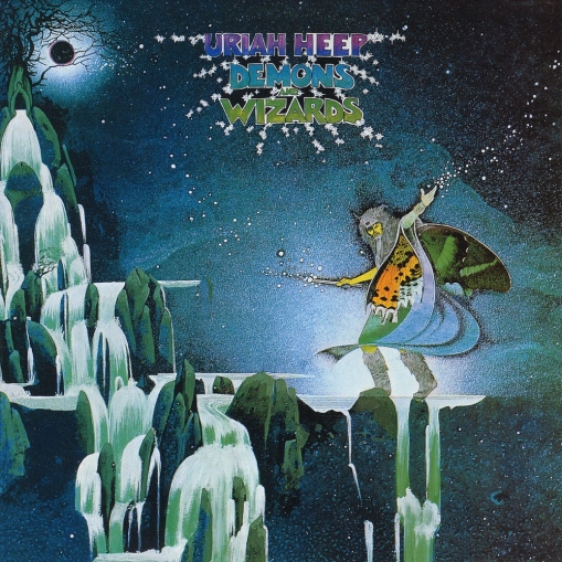 URIAH HEEP DEMONS AND WIZARDS (1972)