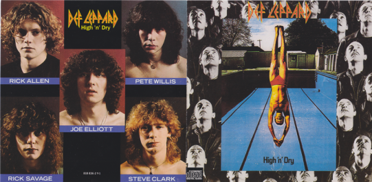 80s Rock Album Focus] Def Leppard – High 'n' Dry – MY ROCK