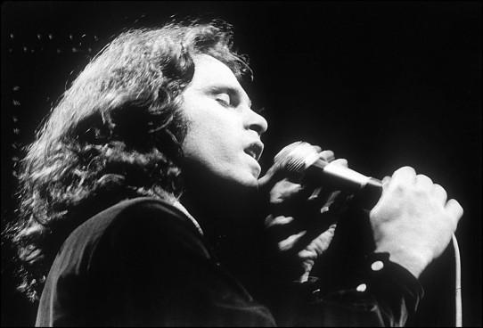 Jim Morrison, retro. RET