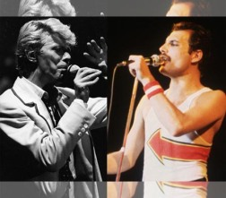 queen and david bowie