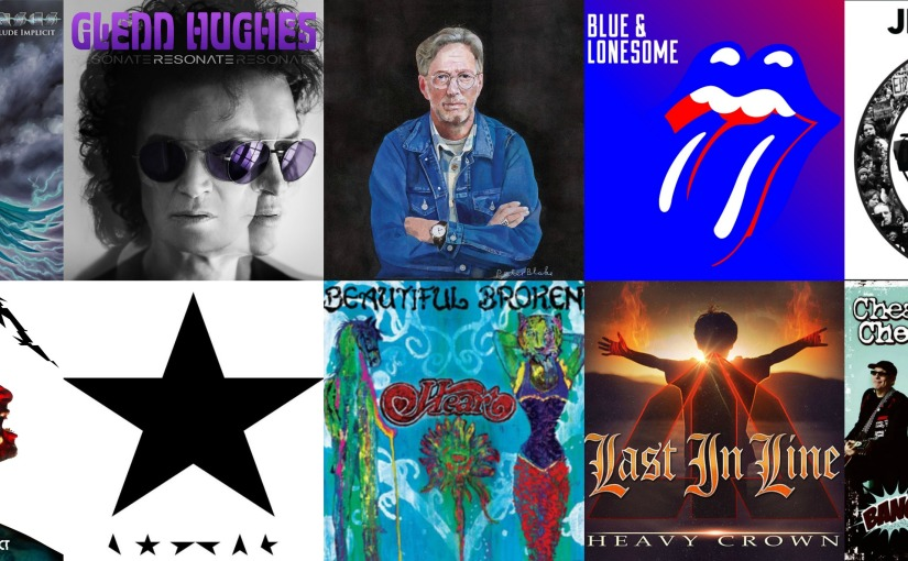 TOP 10 Rock Albums of 2016