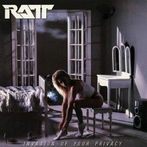 ratt invasion of your privacy album cover