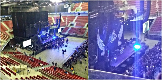 arena armeec inside deep purple concert
