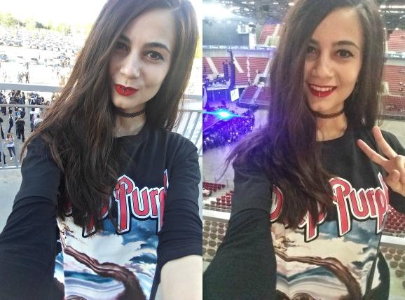 concert selfie