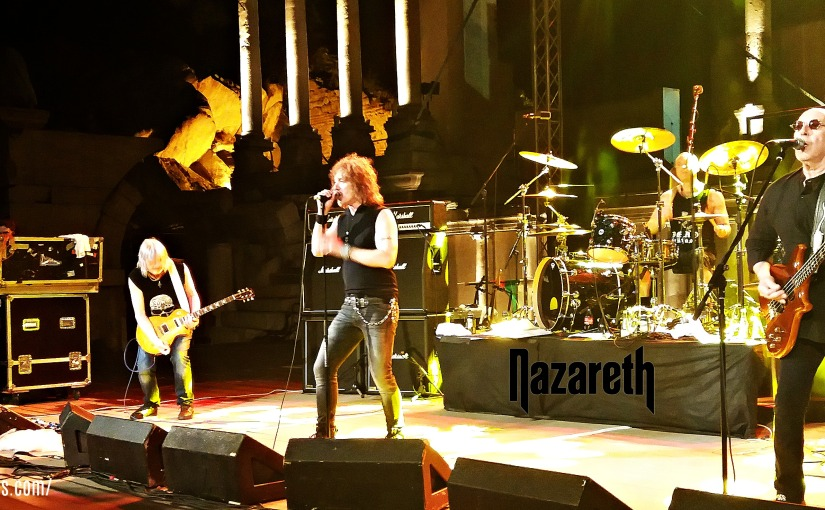 Concert Experience: NAZARETH at Ancient Theater Plovdiv, Bulgaria (18/06/2017)