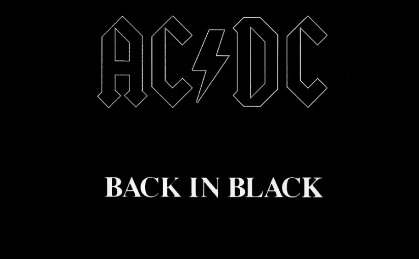 "Celebrating The 37th Anniversary of AC/DC's ""Back In Black"""