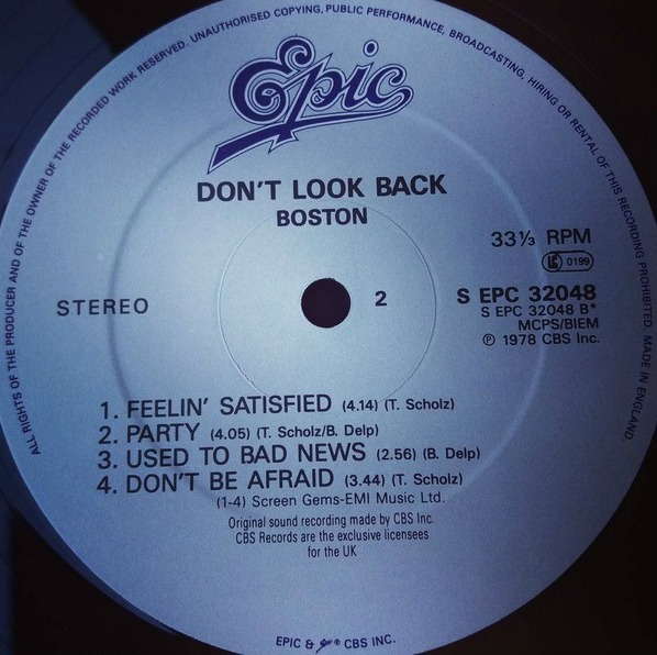 boston dont look back 2