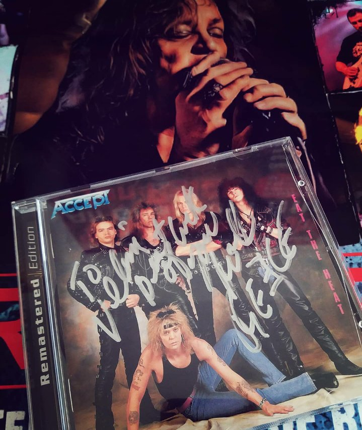 david reece autographed cd