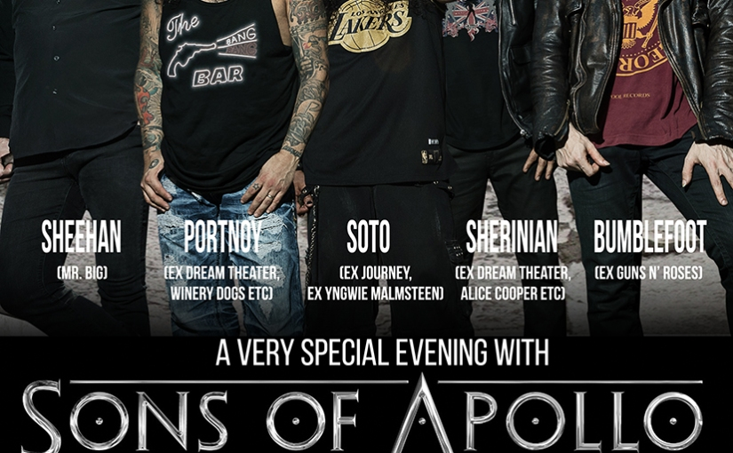 Concert Experience: Sons of Apollo @ Roman Theater Plovdiv, Bulgaria (22/09/2018)